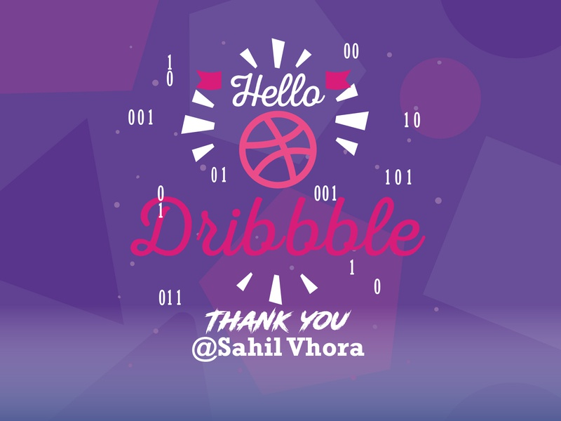When a programmer join Dribbble :D welcome shot welcome first dribbble dribbble best shot programmer