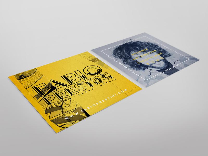 Business Card Fabio Prestini graphicdesign photography businesscard logo branding design