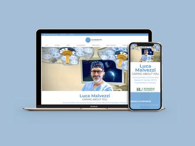 Luca Malvezzi M.D. - website, branding and photography photography responsive wordpress webdesign graphicdesign logo branding colors palette design