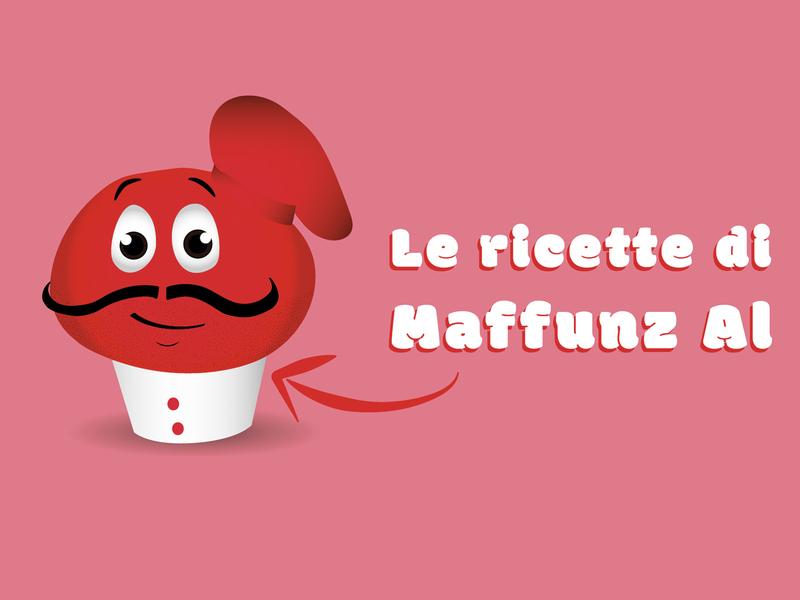 Le ricette di Maffunz Al muffin recipe animation video illustration colors palette