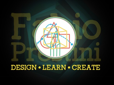 Personal Branding vector illustration colors palette icon branding design logo