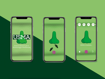 USMA Project - UI design app ui icon vector logo illustration design colors palette branding