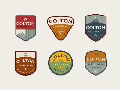 Colton Clothing Co Patches