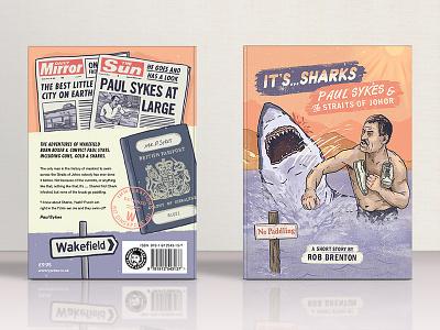 Paul Sykes Book Cover publishing bookcover design digitalart illustration