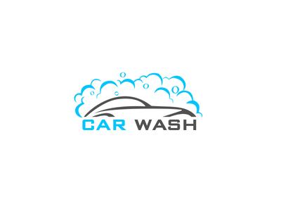 car wash logo by naveen kumar dribbble rh dribbble com car wash logo design template car wash logo design inspiration