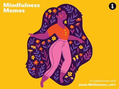 WFH Survival Kit journal meditation mindfulness closer and closer wfh survival kit illustration
