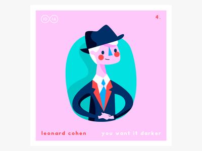 No.4—Leonard Cohen