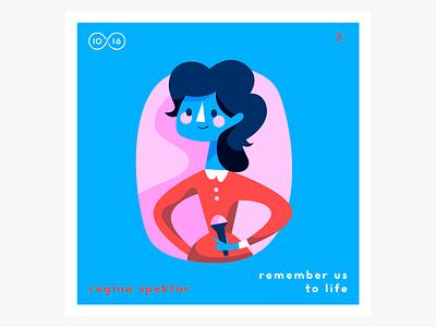 No.3—Regina Spektor 10x2016 music albums illustration