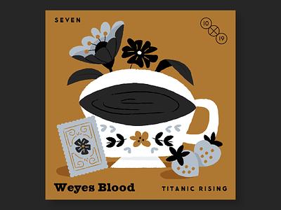 7. Weyes Blood 10x19 record albums music illustration