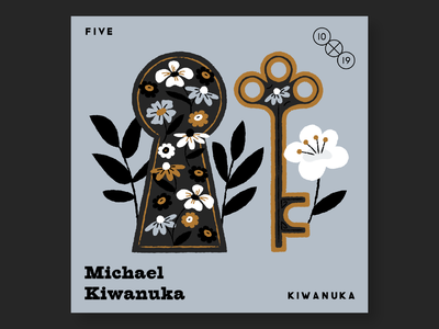 5. Michael Kiwanuka 10x19 music record albums illustration