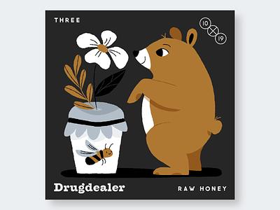 3. Drugdealer 10x19 record albums music illustration