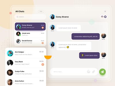 Chatbot(AI) conversation inspiration chat design minimal design customer service support artificialintelligence chatbot agent chat chat
