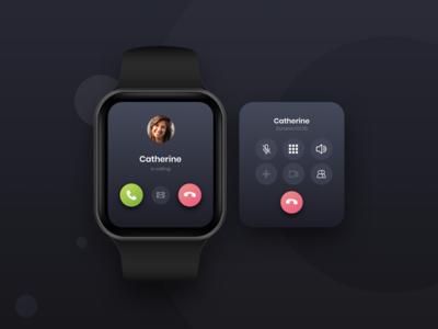 Smart watch Calling design