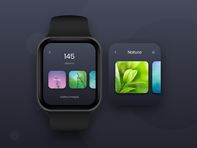 Smart Watch App design smart watch gallery