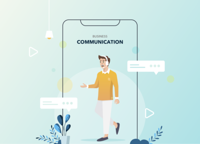 Communication App design