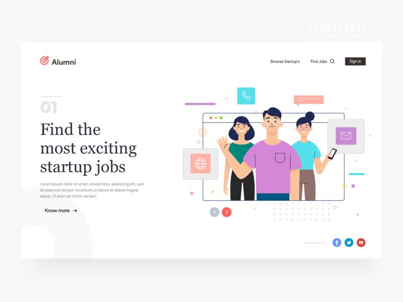 Job search Portal finding vector hiring job portal jobs