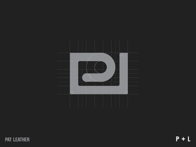 PAT LEATHER - logo design symbol icon design logo