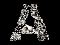 Foil and Fragment Letter A