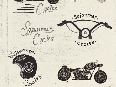 Sojourner Cycles Branding
