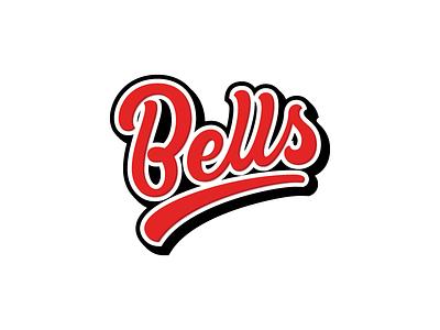 Bells wordmark lettering typography logotype handlettering logo