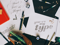 Why You Have Trouble Transferring Your Lettering Idea Onto Paper