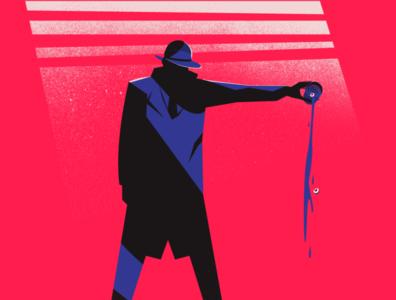 Noir Illustration Scapegoat