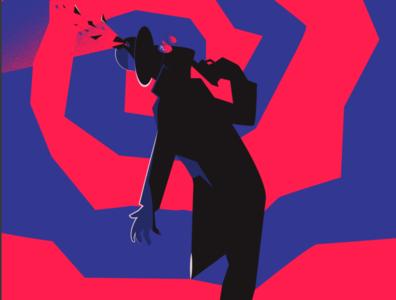 Neo Noir illustration