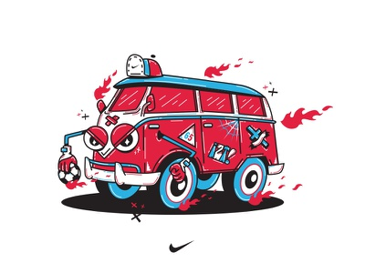 Fire and Ice - Nike barrios iztapalapa nike