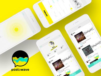 Postawave mobile app