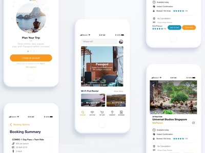 Travel App Redesign