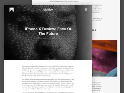 Medley Blog Article product design sketch ui web design blog