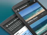 Coastalwatch Android app