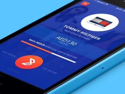 Beam - Brand Page mobile app application iphone wallet payments credit card