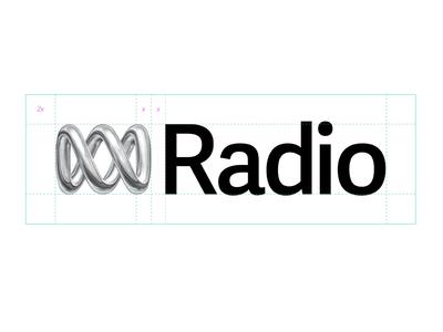 ABC Radio Brand spec guidelines lockup logo brand