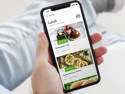 Browse Lunch options nearby restaurants listing stores payment hamburger digitalwallet uae design brand payments app mobile