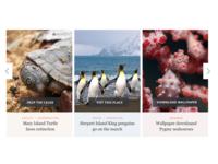 Australian Geographic Cards Carousel