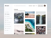 Unsplash Redesign Concept