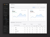 Google Analytics Web Redesign Concept