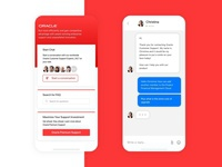 Oracle Customer Service UI Concept