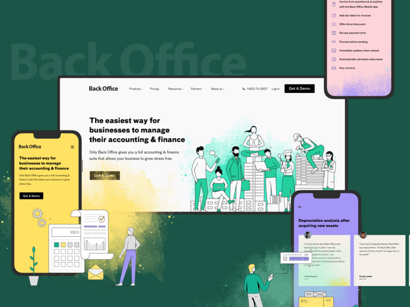 BackOffice New Website for Accountants