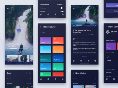 Social Network Feed App Experiment