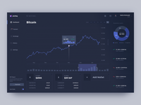 Cryptocurrency Exchange Dashboard