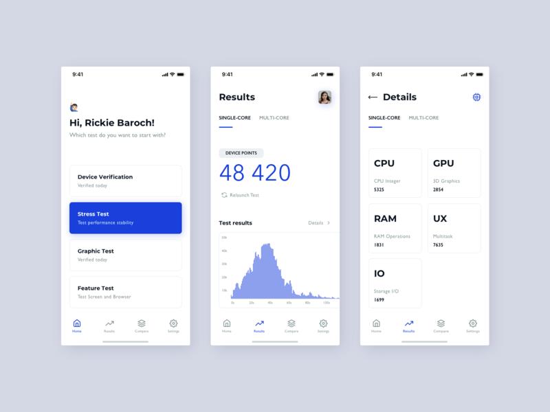 Benchmarking iOs App