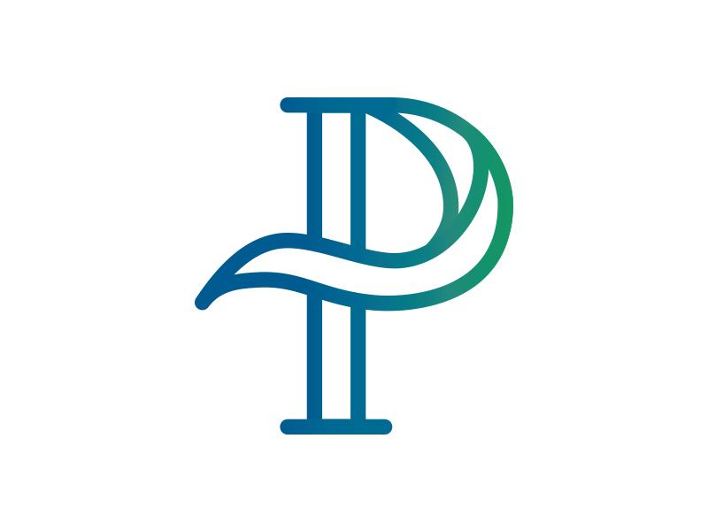 P Monogram By Megan Anderson Dribbble