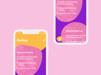 Partify — Main Screen Redesign
