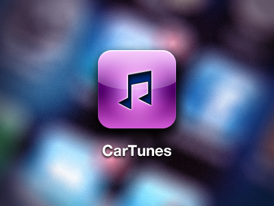 New CarTunes Icon cartunes app iphone ios icon 114 retina