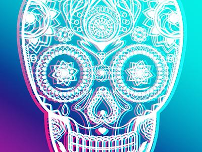 Sugar Skull illustrator sugar skull skull