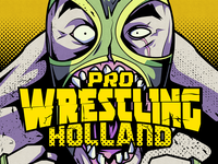 Pro wrestling holland illustration