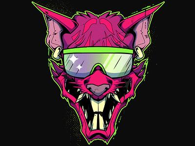 Dirty Dragan Rat face wrestling dragan vector mask face illustration rat