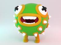 3D creature